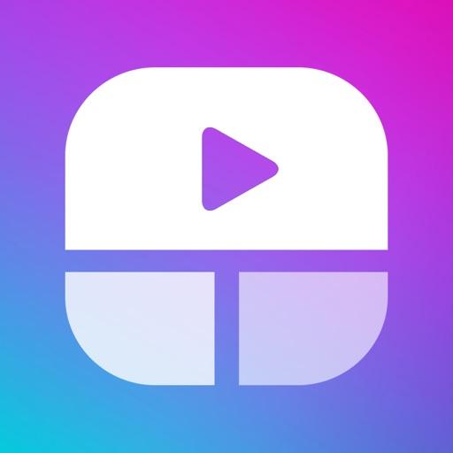 Video Collage - Stitch Videos