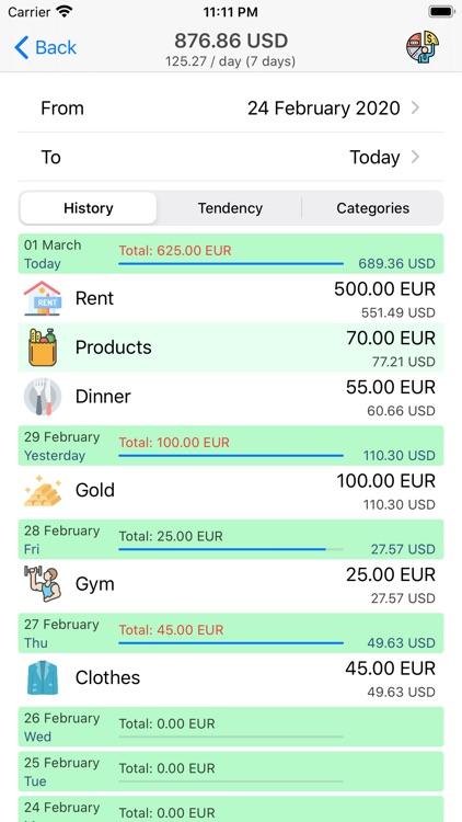 Money Manager+ screenshot-3