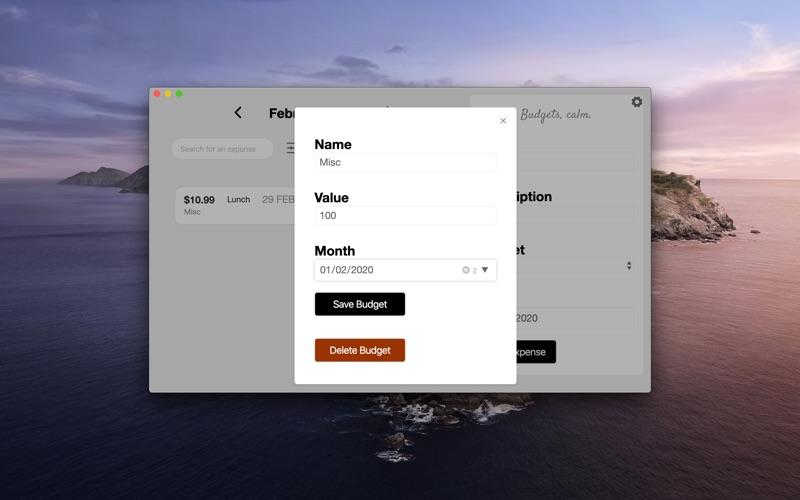 Budget Zen. скриншот программы 3
