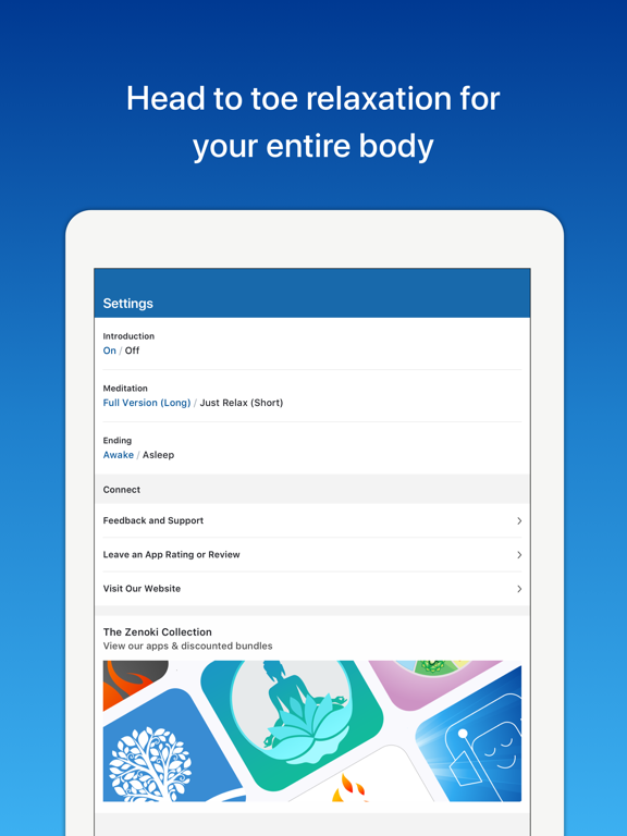 Complete Relaxation Lite: Guided Meditation for a Happy, Stress Free Life screenshot