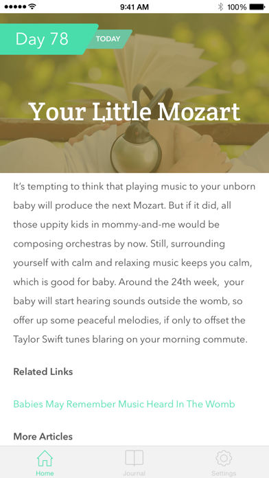 Pregnancy Tracker Screenshot of 2