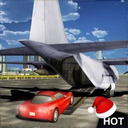 Cargo Plane Car Transport 3D