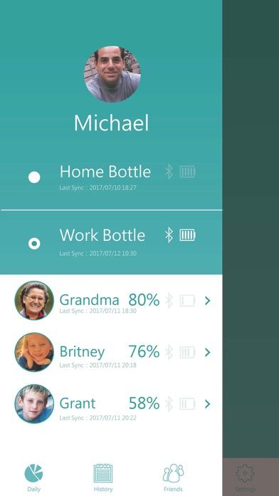 DrinKup bottle - Stay Hydrated screenshot one