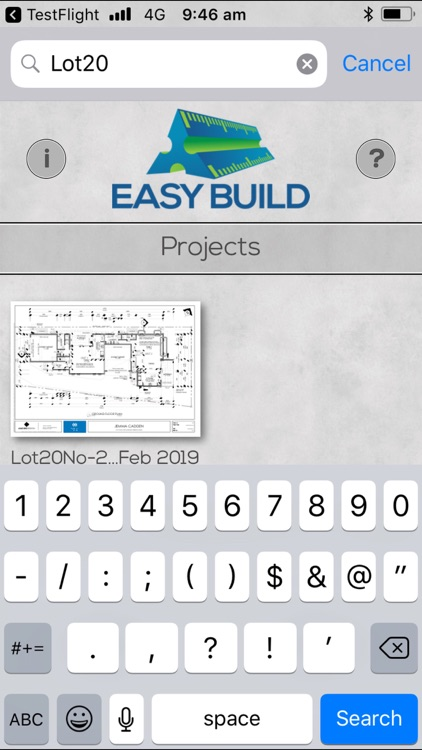 Easy Build for iPhone screenshot-0