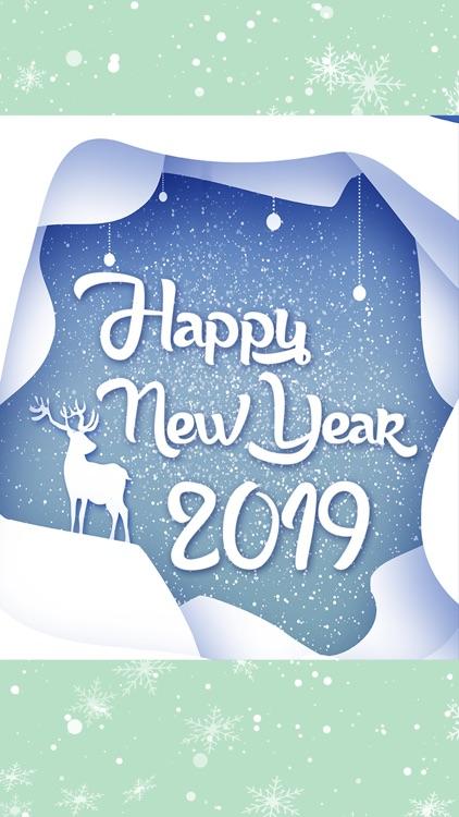 Happy New Year Greeting Cards screenshot-4
