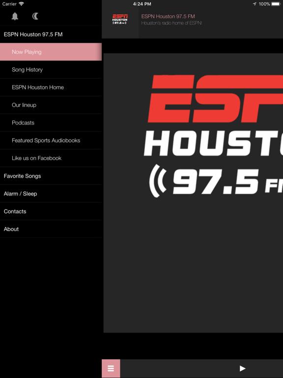ESPN Houston 97.5 FM-ipad-1