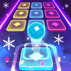 Color Hop 3D - Music Ball Game