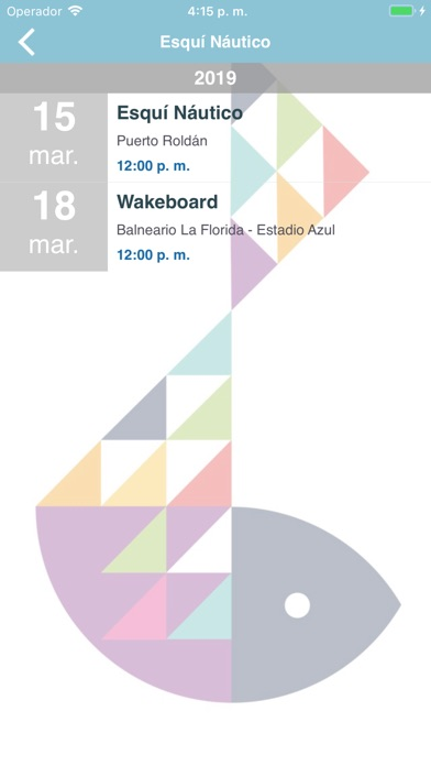 Screenshot for ODESUR Play in Chile App Store