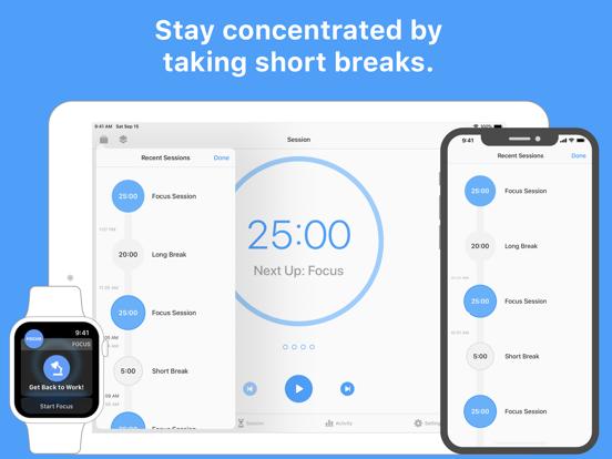 Focus - 仕事効率化タイマーのおすすめ画像2