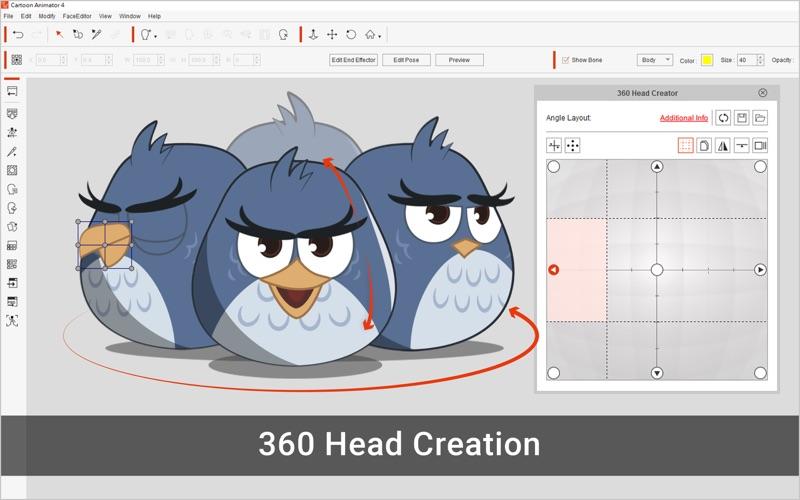 Скриншот №4 к Cartoon Animator 4 Pro для Mac