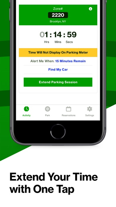 Parkmobile review screenshots