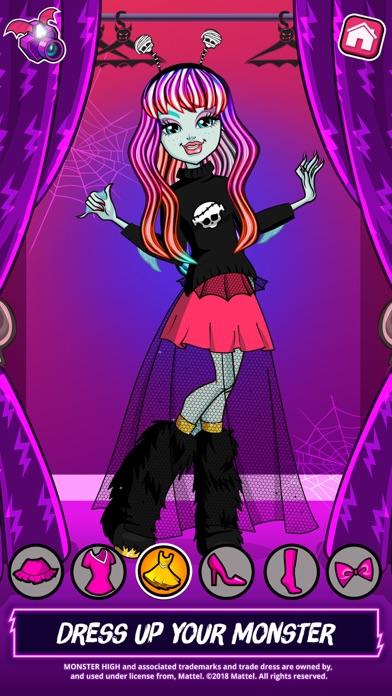Screenshot for Monster High™ Beauty Shop in Denmark App Store