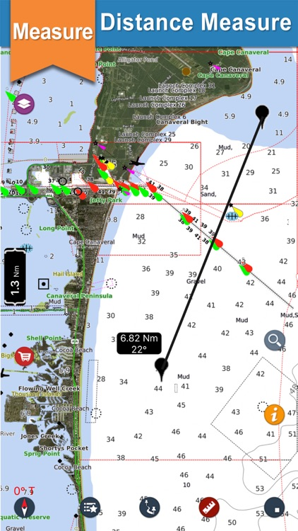 Seawell USA Marine Charts GPS screenshot-8