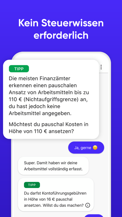 messages.download Steuererklärung software