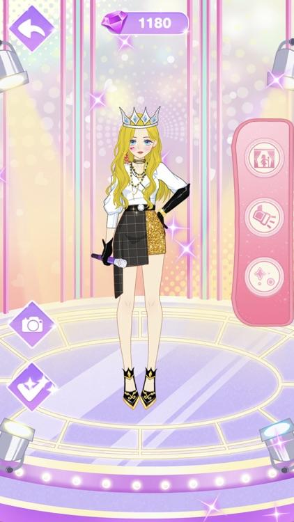 Star Girl Anime Dress Up screenshot-4