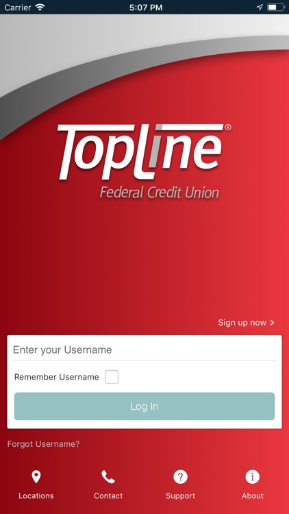 TopLine FCU Mobile Banking screenshot-1