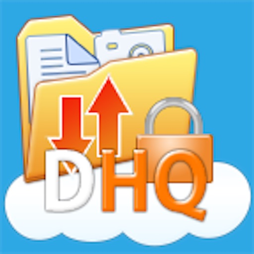DriveHQ FileManager for tablet