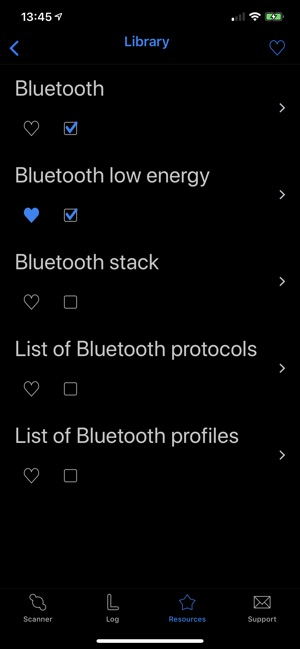 BLE Smart - Bluetooth Scanner Screenshot