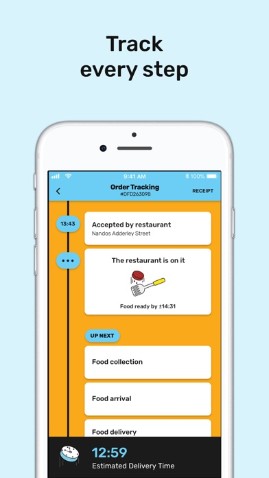 Screenshot for Mr D Food - Delivery & Takeout in South Africa App Store