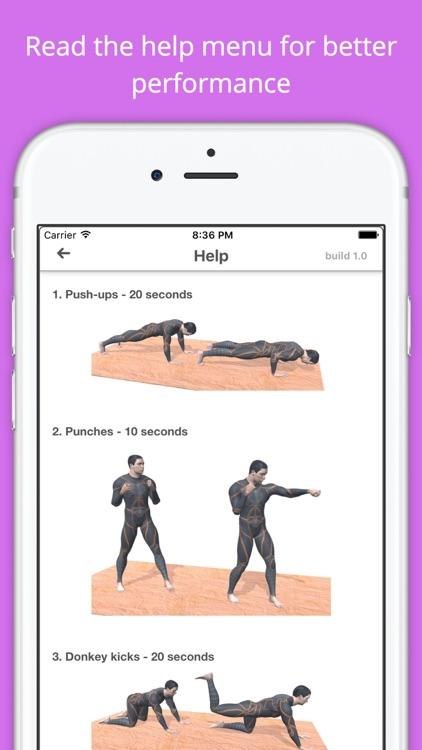 12 Min Ladies Workout Get Fit screenshot-4