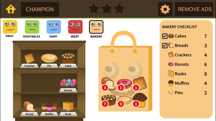 Grocery Game for 1st 2nd Grade screenshot-4