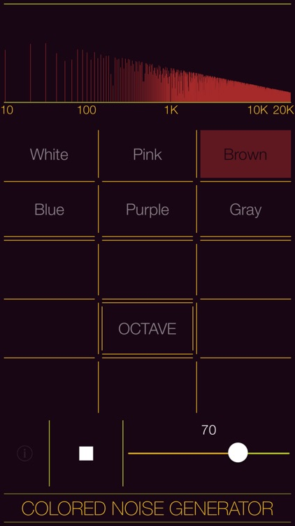 Colored Noise Generator screenshot-3