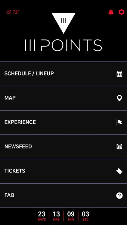 III Points Music Festival App