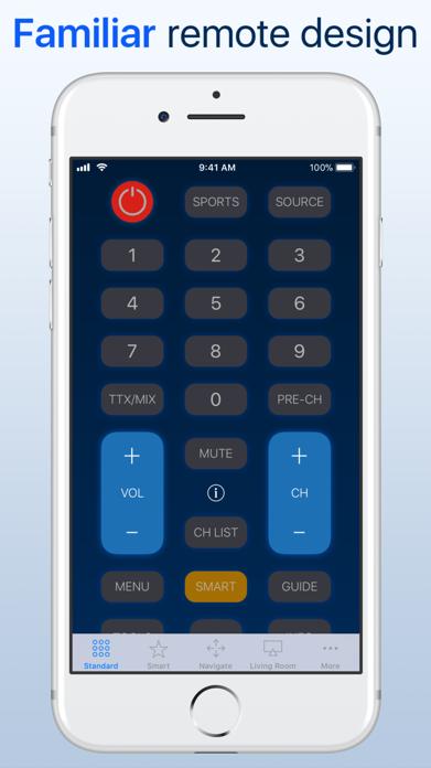 myTifi remote for Samsung TV Screenshot