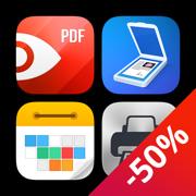 终极效率套餐 - 阅读 PDF、编辑、扫描、打印、规划!