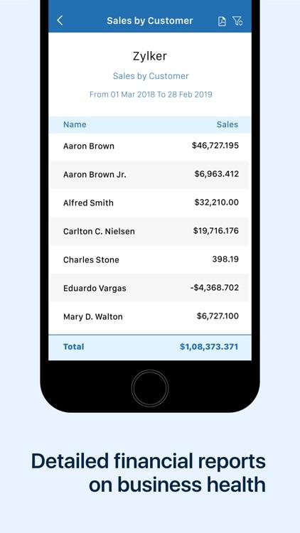 Invoice & Time Tracking - Zoho screenshot-9