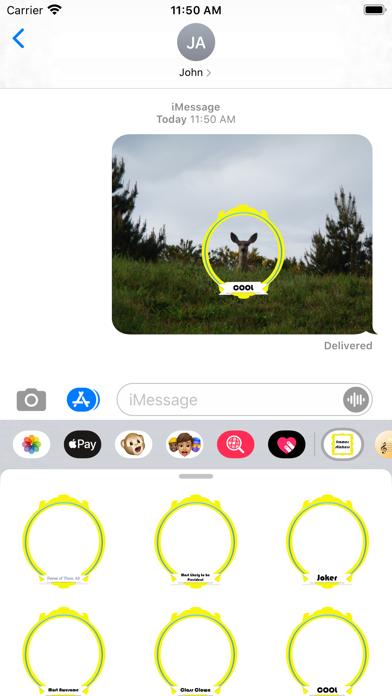 frames stickers screenshot 1