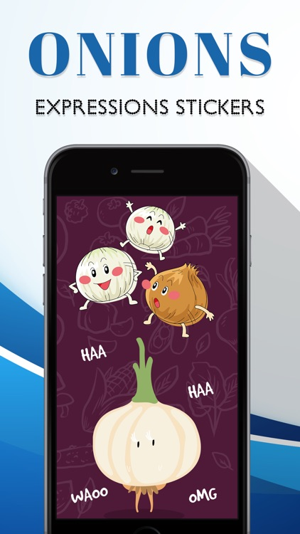 Onion Expression Stickers