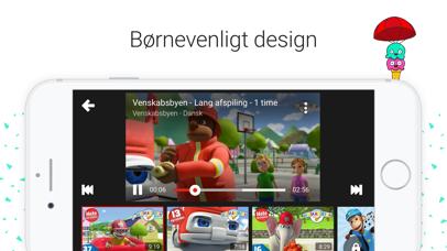 Screenshot for YouTube Kids in Denmark App Store