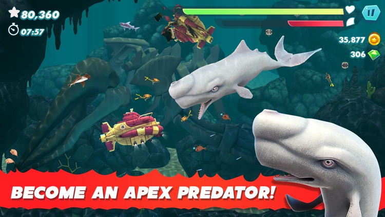 Hungry Shark Evolution screenshot-3