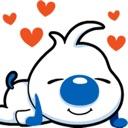 Cartoon dog Expression