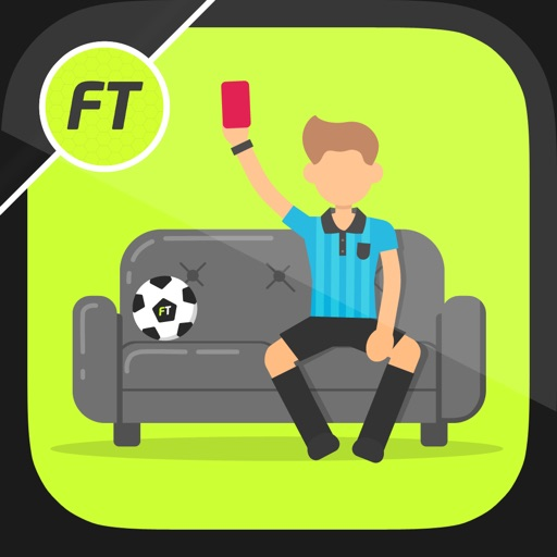 FootieTalks Sofa Referee