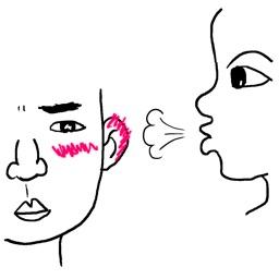 Kiss Face Camera