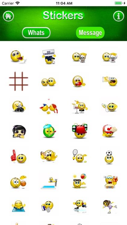 3D Stickers Messages, WeChat screenshot-3