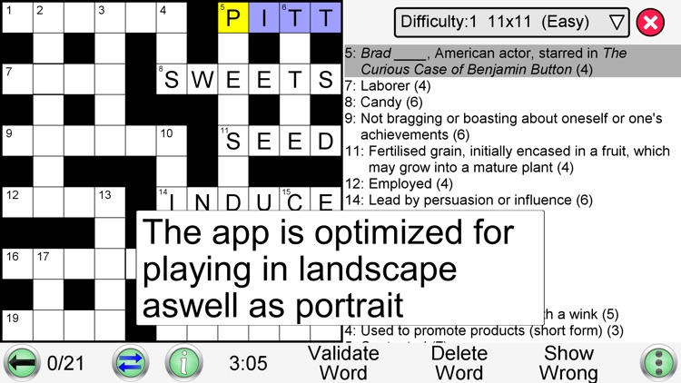 Crossword Unlimited screenshot-6