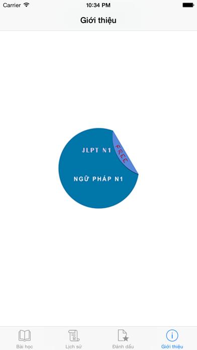 JLPT Ngữ Pháp N1のおすすめ画像1