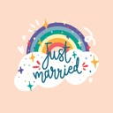 Just Married – GIFs & Stickers