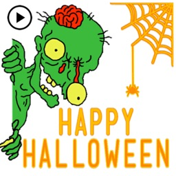 Animated Monters At Halloween