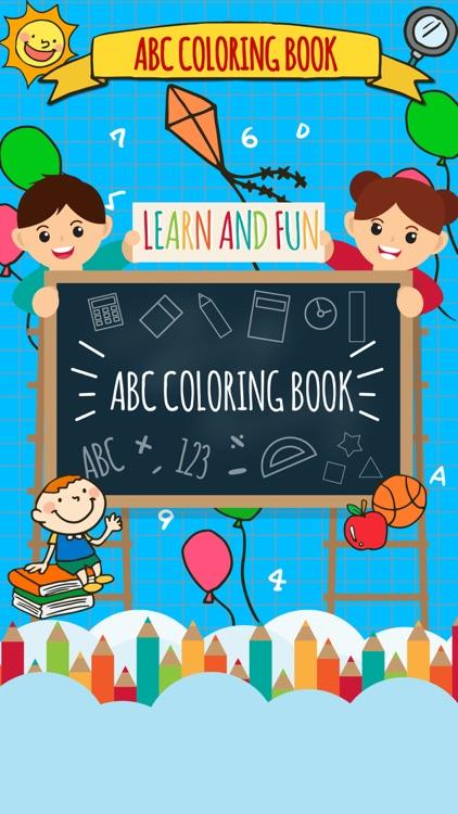 Abc Coloring Book-Draw & paint screenshot-3
