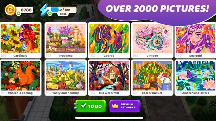 Gallery: Coloring Book & Decor screenshot-5