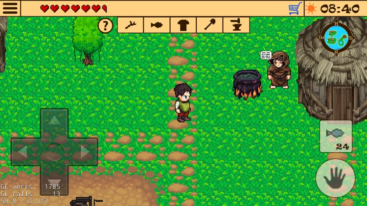 Survival RPG 2:Temple Ruins 2d screenshot-7