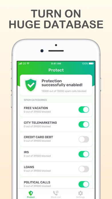 Call Blocker – Block Spam screenshot 2