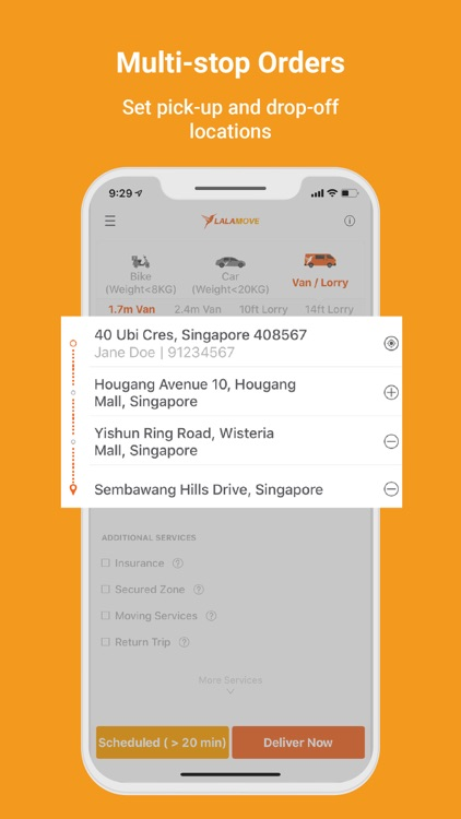 Lalamove - Fast Delivery App screenshot-3