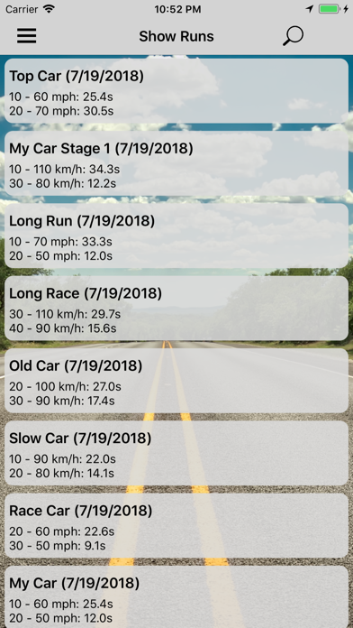 messages.download GPS Race Timer software