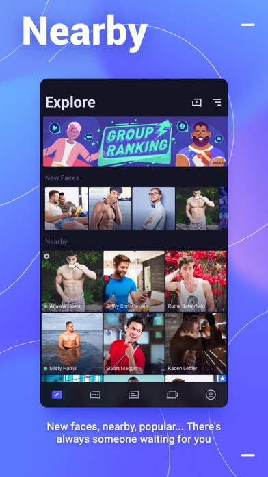 Blued - Gay Video Chat Screenshot