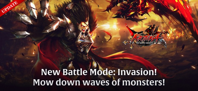 Mod Game Kritika: The White Knights for iOS